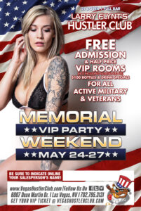 Memorial VIP Party Weekend
