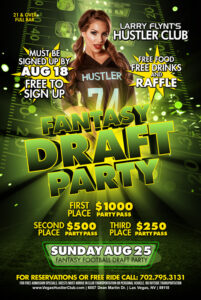 Fantasy Draft Party