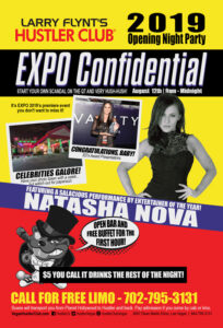 Expo Confidential with Natasha Nova Opening Night Party