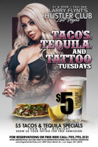 Tacos, Tequila and Tattoo Tuesdays