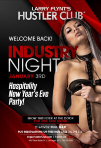 Hospitality New Year's Eve Party