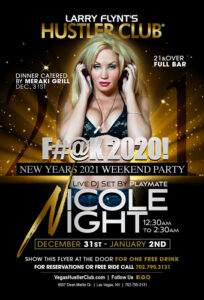 New Years 2021 Weekend Party